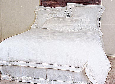 Edinburgh Hemstitch Duvet Cover - King size