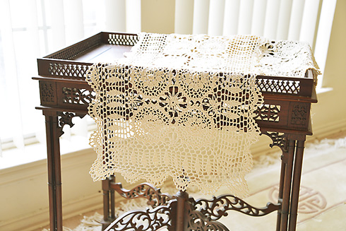 Crochet Lace Table Runner